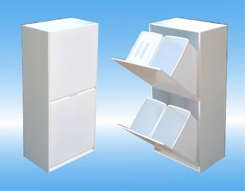 Intermax srl mobili slim creano lo spazio - Mobiletto raccolta differenziata ...