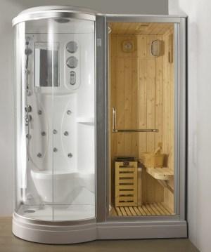 box doccia idromassaggio 80x80 box benessere con idromassaggio sauna finlandese e bagno turco